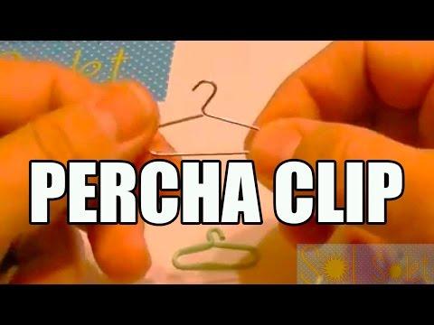 """👉 【TRANSFORMA un CLIP】 🔗 en una """"Mini Percha"""" [Gancho] para tus 👚 Proyectos [2021]"""